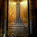 Empire State Building - Magnificent Lobby by Miriam Danar