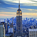 Empire State Building New York City Usa by Sabine Jacobs