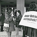 Employees Of Printing - Offices On Strike Throughout by Retro Images Archive