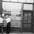Employment Bureau, 1937 by Granger
