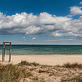 Empty Beach by Juan Carlos Ferro Duque