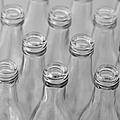 Empty Bottles Abstract by Grigorios Moraitis