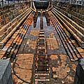 Empty Dry Dock by Mike Martin