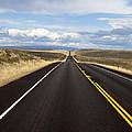 Empty Highway Image Art by Jo Ann Tomaselli