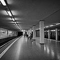 empty Potsdamer Platz s-bahn station Berlin Germany by Joe Fox