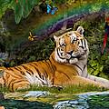 Enchaned Tigress by Alixandra Mullins