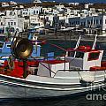 Enchanted Spaces Mykonos Greece 1 by Bob Christopher