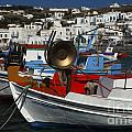 Enchanted Spaces Mykonos Greece 2 by Bob Christopher