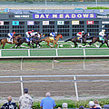 End Of An Era At Bay Meadows With Their Last Horse Race by Scott Lenhart