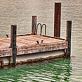 End Of Small Pier by Linda Phelps