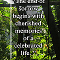 End Of Sorrow by Linda L Martin