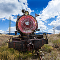 End Of The Line - Steam Locomotive by Fran Riley