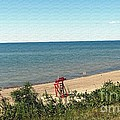End Of The Season At Wendt Beach Park by Rose Santuci-Sofranko