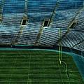 End Zone Lambeau Field by Tommy Anderson