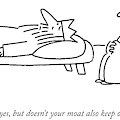 Enemies, Yes, But Doesn't Your Moat Also Keep by Charles Barsotti