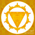 Energy Center Abstract Chakra Artwork By Omaste Witkowski by Omaste Witkowski