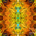 Energy Experiences Abstract Healing Artwork By Omaste Witkowski by Omaste Witkowski