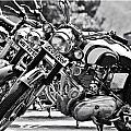 Enfield Motorcycles by Sonam Phintso Bhutia