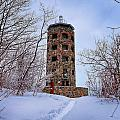 Enger Tower In Winter by Bryan Benson