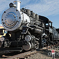 Engine 4455 In The Colorado Railroad Museum by Fred Stearns