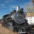 Engine 491 In The Colorado Railroad Museum by Fred Stearns