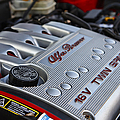 engine cover on an Alfa Romeo twin spark engine in a 156 by Joe Fox