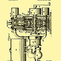 Engine Patent 1920 by Mountain Dreams