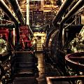 Engine Room Queen Mary 02 Sepia by Thomas Woolworth