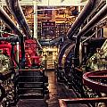 Engine Room Queen Mary 02 by Thomas Woolworth