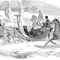 England Royal Sledge, 1854 by Granger