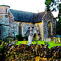English Churchyard by Lenore Senior