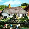 English Country Cottage Sold by Susan Dehlinger