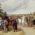 English Horse Fair On Southborough Common by John Frederick Herring Snr