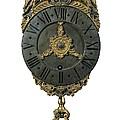 English Lantern Clock 18th C.. Baroque by Everett