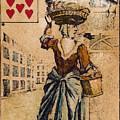 English Playing Card, C1754 by Granger