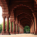 Engrailed Arches, Red Fort, New Delhi by Aidan Moran