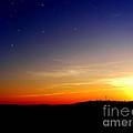 Enhanced Sunset by Jayson Banner