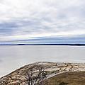 Enid Lake - Winter Landscape by Barry Jones