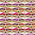 Enjoy Bliss Of Artistic Sensual Aura Lips  Kiss Romance Pattern Digital Graphic Signature   Art  Nav by Navin Joshi