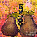 Enjoy Pears by Claire Bull