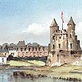 Enniskillen Castle Fermanagh by Val Byrne