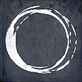 Enso No. 107 Blue by Julie Niemela