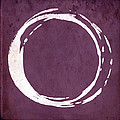 Enso No. 107 Magenta by Julie Niemela