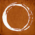 Enso No. 107 Orange by Julie Niemela