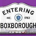 Entering Boxborough by K Hines