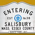 Entering Salisbury by K Hines