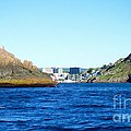 Entering The Narrows Near Fort Amherst Rock By Barbara Griffin by Barbara Griffin