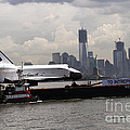 Enterprise To The Intrepid Air And Space Museum by Steven Spak