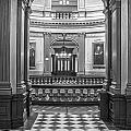 Entrance At Michigan State Capital  by John McGraw