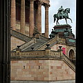 Entrance Old National Gallery Berlin by Christiane Schulze Art And Photography
